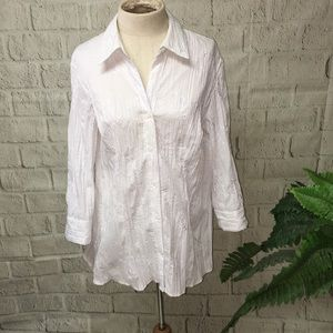 St Johns Bay white blouse with white embroidery